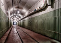 Underground bunker from cold war ukraine sevastopol Royalty Free Stock Photos