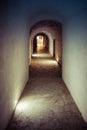 Underground corridor Royalty Free Stock Photo