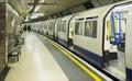 Underground in London Royalty Free Stock Photo