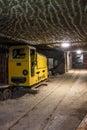 Underground Mine Tunnel With M...