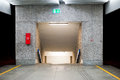 Underground passage underpass at the railway station Royalty Free Stock Photos