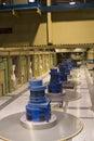 Underground powerstation Stock Images