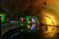 The underground river of seven star crags park zhaoqing china may zhaoqing Stock Image