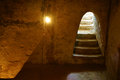 Underground room at Cu Chi tunnel Royalty Free Stock Photo