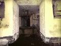 Underground tunnel and bunker Apocalypse doomsday Royalty Free Stock Photo