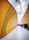 Underground tunnel at the marienplatz station in munich germany Stock Images