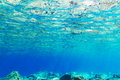 Underwater background aegean sea greece Royalty Free Stock Image