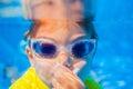Underwater boy Royalty Free Stock Photo