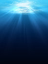 Underwater scene background Royalty Free Stock Photo