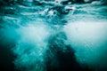 Underwater Sea Bubbles Backgro...