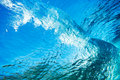 Underwater Wave Royalty Free Stock Photo