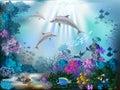 Underwater World Royalty Free Stock Photo