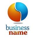 Une conception simple de logo du vecteur 3d Photo libre de droits