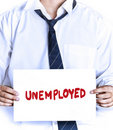 Unemployed Royalty Free Stock Photo