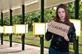 Unemployed Women Royalty Free Stock Photo