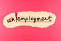 Unemployment to employment Royalty Free Stock Photo