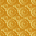 Unending raster gold endless luxury retro underlying grid for packaging printing paper wallpaper tiles and ceremonial textiles and Royalty Free Stock Photography