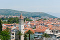 Unesco Heritage Trogir in Croatia Stock Image