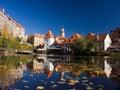 UNESCO - town Cesky Krumlov Stock Image