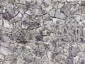 Uneven shale slate stone wall background textured Royalty Free Stock Photo
