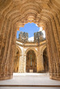 Unfinished Chapels of Batalha monastery Royalty Free Stock Image