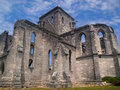 Unfinished church picture of the in st george bermuda Royalty Free Stock Images