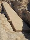 The unfinished obelisk Royalty Free Stock Photo