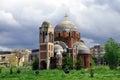 Unfinished Serbian Orthodox Temple of Saint Saviour Royalty Free Stock Photo