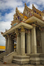 Unfinished thai temple pariwart bangkok thailand Royalty Free Stock Image