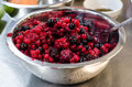 Unfrozen berries Royalty Free Stock Image