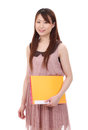 Ung asiatisk affärskvinna Royaltyfri Fotografi