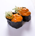 Uni (Sea Urchin) Gunkan Royalty Free Stock Photo