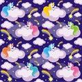 Unicorns and comets