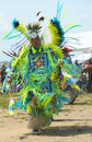 Unidentified native american dancer at the nyc pow wow brooklyn new york june in brooklyn on june a is a gathering and Stock Images