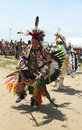 Unidentified native american dancers at the nyc pow wow in brooklyn new york june on june a is a gathering and Stock Photo