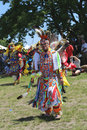 Unidentified native american dancers at the nyc pow wow new york june in brooklyn on june a is a gathering and heritage Stock Photography