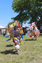 Unidentified native american dancers at the nyc pow wow new york june in brooklyn on june a is a gathering and heritage Stock Images