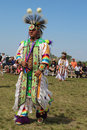 Unidentified native american at the nyc pow wow new york june in brooklyn on june a is a gathering and heritage Royalty Free Stock Photography