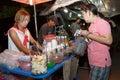 An unidentified thai people sells food on night market wall street phitsanulok thailand june walk june in phitsanulok thailand Royalty Free Stock Image