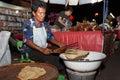 An unidentified thai people sells food on night market wall street phitsanulok thailand june walk june in phitsanulok thailand Stock Photo