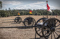 Union Army Caissons Royalty Free Stock Photo