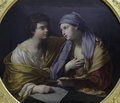 Union of Drawing and Color by Guido Reni