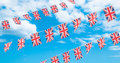 Union Flag Bunting Stock Image