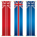 Union jack banners