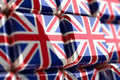 Union Jack-Cube Stock Images