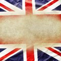 Union jack flag copy space Royalty Free Stock Photos