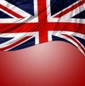 Union Jack flag Royalty Free Stock Photo