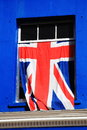 Union jack national flag of the united kingdom Stock Photos