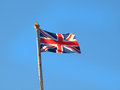 Union jack national flag of the united kingdom uk Royalty Free Stock Photos