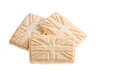 Union Jack Shortbread Stock Photography